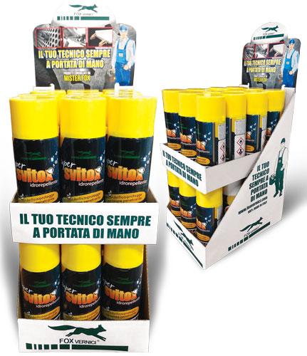 ESPOSITORE DA TAVOLO SPRAY TECNICI