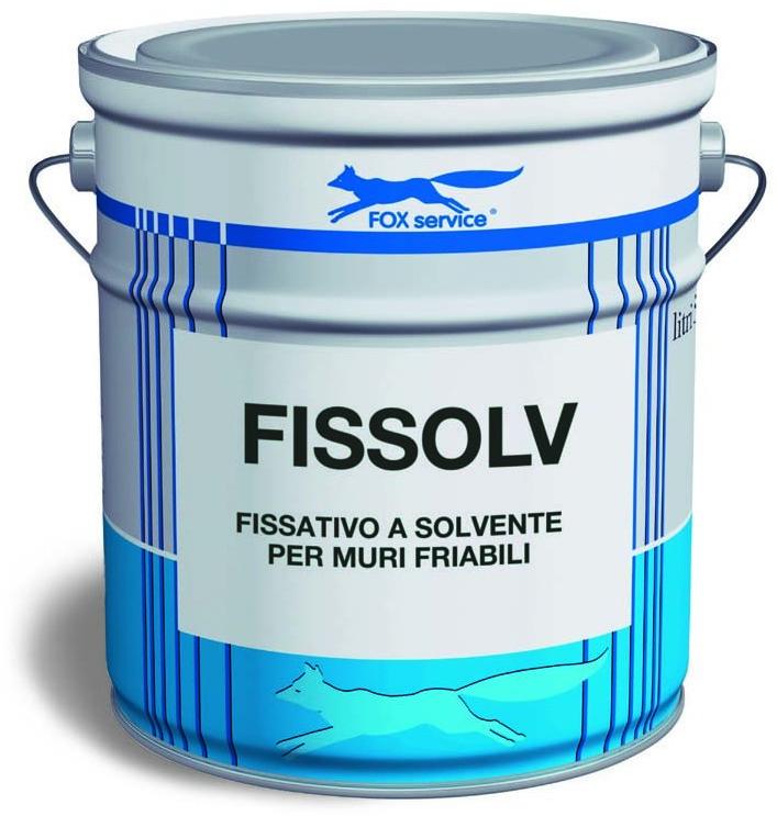 Fox fissolv fissativo a solvente fox vernici roma - Fissativo per muri esterni ...