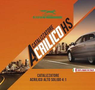 Catalizzatore Acrilico HS 4:1 Alto Solido