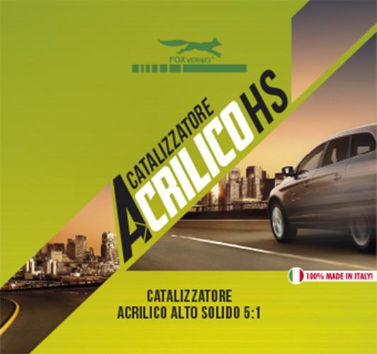 Catalizzatore Acrilico HS 5:1 Alto Solido