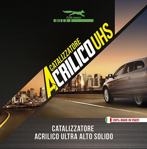 Catalizzatore Acrilico UHS Ultra Alto Solido